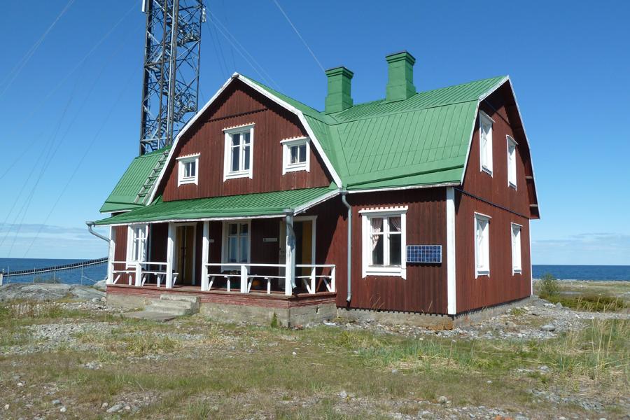 Västra Norrskärin vanha luotsitupa. Kuva: Jouni Kannonlahti.
