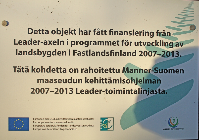 Karikatornet Mustasaaren Bodönin Karikabergetillä. Kuva: Aarne Lahti.